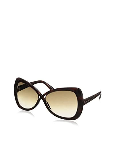 Tom Ford Women's Jade Sunglasses, Dark Havana