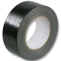 1 Roll Gaffer tape Black 48mm x 50m gaffa duct duck packing cloth book binding