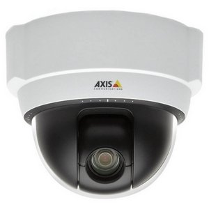 Axis 215 PTZ Network Camera - Color, Black & White - CCD - Cable