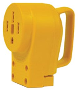 Camco 55353 50 AMP Female Replacement Receptacle picture