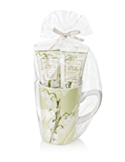 Floral Collection Lily of the Valley Mug Gift Set