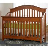 Bonavita Easton Lifestyle Crib, Chestnut - 1