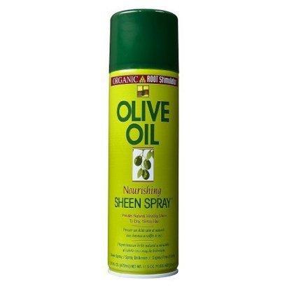 Organic Root Stimulator Spray Brillance Nourrissant à l'Huile d'Olive pour Cheveux Assoiffés et Secs 472ml