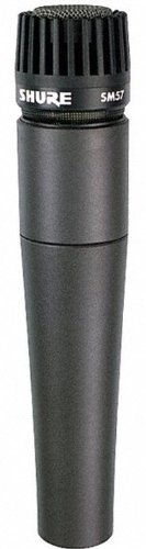 Shure SM57-LC Cardioid Dynamic MicrophoneB0000AQRSU : image