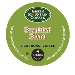 Green Mountain Coffee Mega Size Package Breakfast Blend, K-Cup Portion Pack for Keurig K-Cup Brewers - 96 Count