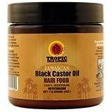 Tropic Isle Jamaican Black Castor Oil Hair Food, 4 Ounce