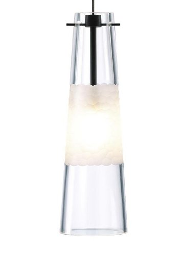 Xenon Ceiling Lights : Bonn light pendant shade color clear finish mounting