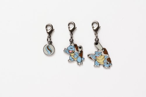 Pokemon Center National Pokedex Metal Charm Mega Blastoise