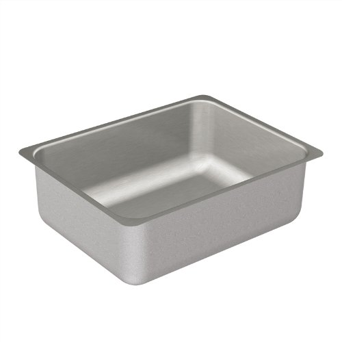Moen 22255 Camelot Stainless Steel 20 Gauge Single Bowl Drop In Sink, Stainless