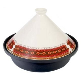 Ashanti Cream Cast Iron Tagine 25cm Diameter By Verygoodbuys