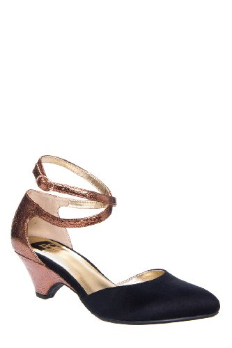 BC Footwear Burn Brighter Low Heel D'Orsay Pump