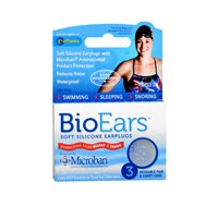 Bioears Bioears Antimicrobial Soft Silicone Earplugs For Noise Reduction