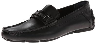 Calvin Klein Men's Magnus Slip-On Loafer,Black,7 M US