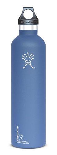 Hydro Flask Stainless Steel Drinking Bottle, Everest Blue, 24-Ounce
