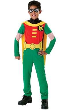 Teen Titan Robin Costume Boy - Child Large 12-14 at Gotham City Store