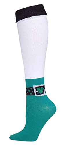 St. Patricks Day Womens Knee High Boot Socks