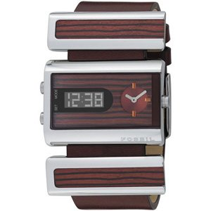 Fossil Ladies Wooden Watch - Jr9448