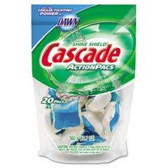 Action Pacs, Fresh Scent, Blue, 12.7Oz Reclosable Bag, 20/Bag front-342510