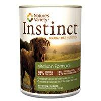 Nature's Variety Instinct Grain-Free Venison Formula Canned
