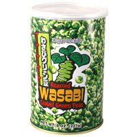 Roasted Wasabi Peas Can 8 oz by Royal Orchids