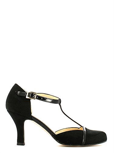Grace shoes 7925 Sandalo tacco Donna Nero 35