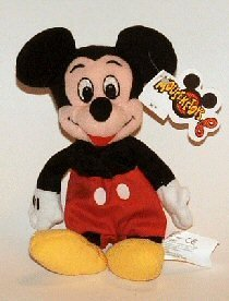 Disney Mini Bean Bag Mickey Mouse - 1