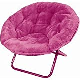 Amazon Com Totally Me Plush Saucer Chair Pink Toys R