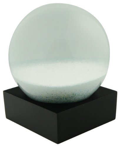 Abstract Zen Snow Globe