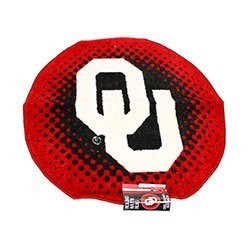 "Ncaa Officially Licensed Oklahoma University Sooners 24"" Round Decorative Rug"