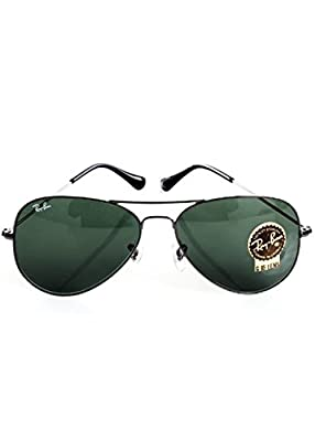 Ray-Ban RB 3025 Aviator Gunmetal w/ Gray Green (G15) Lens 58-14-135