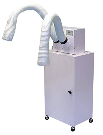 Extract-All SP-981-2B Fume Extractor, Portable Cabinet Mount, 350 CFM