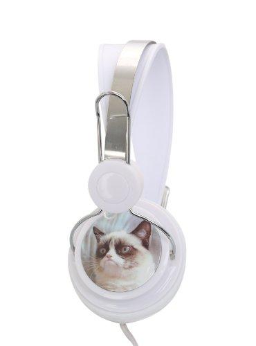 Grumpy Cat Stereo Headphones