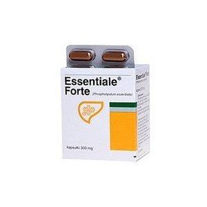 A. Nattermann & Cie GmbH (Germany) ESSENTIALE ® forte - Leberschutz - 100% natürliche und ohne Nebenwirkungen Ergänzung - 30 Kapseln