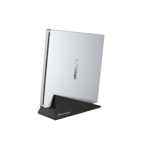 Pioneer パイオニア 外付 USB2.0接続 Mac対応 BDドライブ  スロットイン シルバー 白箱 BDR-XU02JM/LE