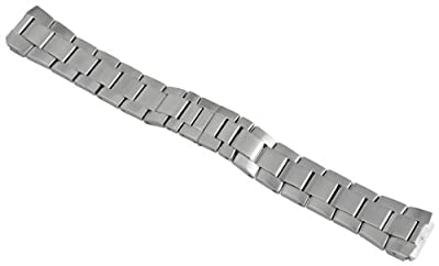 Philip Stein 2-SS 20mm Stainless Steel Silver-Tone Watch Bracelet