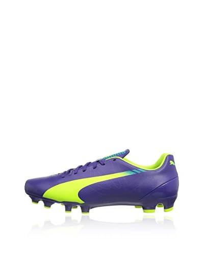 Scarpa Da Calcetto [Violett (prism violet-fluro yellow-scuba blue 01)]