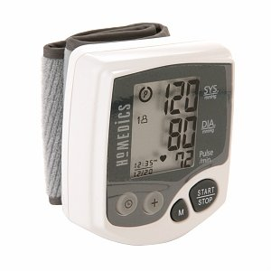 HoMedics Automatic Wrist Blood Pressure Monitor with Smart Measure Technology, 1 ea (Homedic Blood Pressure Cuff compare prices)