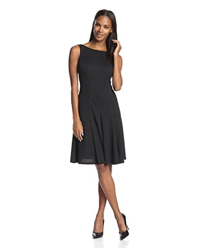 Alexia Admor Women's Fit & Flare Dress  [Black]