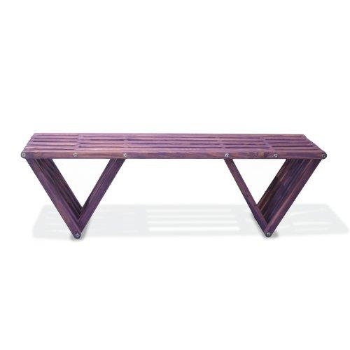 GloDea X60 Bench Purple Berry Furniture Outdoor Furniture Accessories