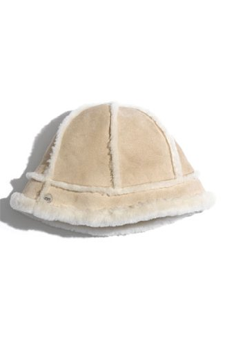 UGGUgg Australia Ladies Shearling Ultra Bucket Hat (Sand)