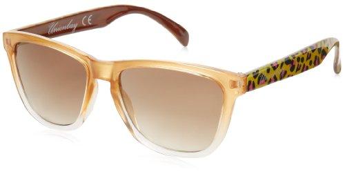 union-bay-womens-u235-oval-sunglassesgold-animal51-mm