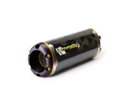Two Brothers Racing (005-2120107V) Standard Series M-2 Carbon Fiber Canister Full Exhaust System (Yamaha Fz6r Exhaust System compare prices)