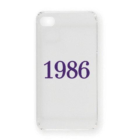 1986 iPhone4オリジナルケース(クリア)