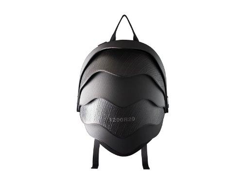 "Pangolin Man 13"" Backpack Made of Reused Tire Inner Tubes"
