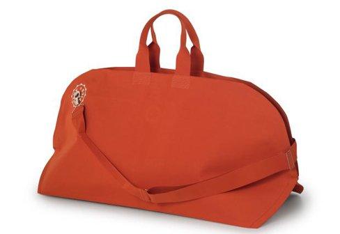 Authentics Kuvert Reisetasche L - orangerot