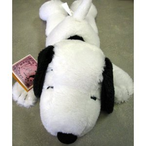 Hallmark Snoopy Paj3004 Small Laying Down Snoopy Plush front-336731