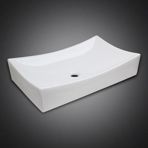 Sale Low Profile Ceramic Bathroom Faucet Vessel Vanity