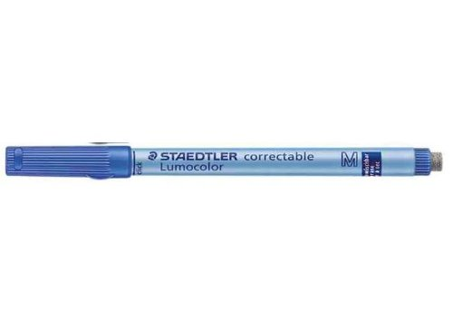 Lumocolor marqueur non-permanent correctable, bleu