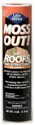 Lilly Miller 5601060 Moss Out for Roofs, 4-Pound
