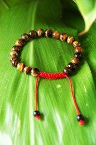 Tiger Eye Gemstone Wrist Mala/ Bracelet for Meditation